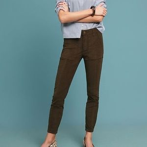 Anthropologie Cor!duroy Slim Utility Pants